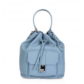 Τσάντα Trussardi 75B00387 Γαλάζιο