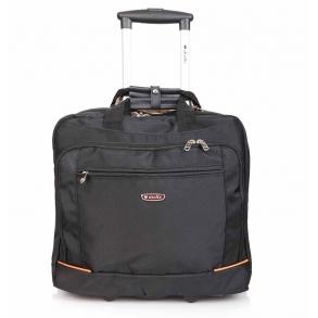 Επαγγελματική τσάντα troley  DIELLE 412M Μαύρη