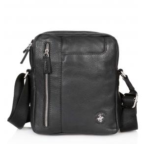 Τσάντα χιαστί POLO BH1162 Μαύρο