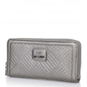 πορτοφόλι Love Moschino 5543 Ασημί