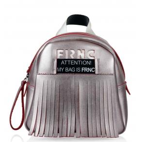 Σακίδιο FRNC 1042 Ροζ Μεταλλικό