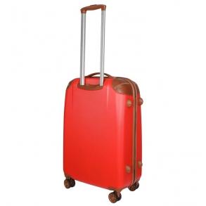 Βαλίτσα σκληρή DIELLE 155/70 Μεγάλη Κόκκινη