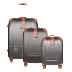 Σετ 3 βαλίτσες DIELLE 155 Γκρι